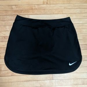 Nike Pure Tennis Skirt black Dri-fit M black